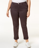 Style&Co. Style & Co Plus Size Cropped Chino Pants, Only at Macy's