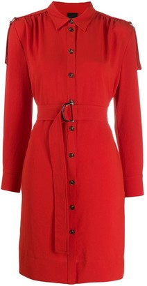 Pinko Belted Waist Dress