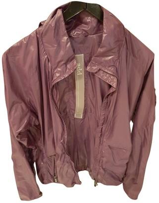 ADD Purple Trench Coat for Women