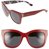 Dolce & Gabbana Women's 55Mm Retro Sunglasses - Red