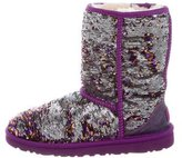 UGG Sequin Ankle Boots