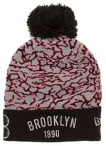 New Era New Mens Black Brooklyn Acrylic Beanie Beanies