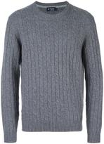Hackett cable knit jumper