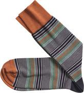 Johnston & Murphy Multi Stripe Socks