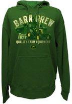 John Deere Barn Crew Vintage Tractor Men's Hooded Sweatshirt