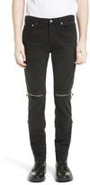 Givenchy Men's Vintage Style Biker Jeans
