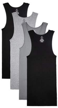 George Big Men's A-Shirts, 4-Pack