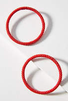 Anthropologie Hula Hoop Post Earrings