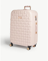 Ted Baker Ellete bow-detailed medium four-wheel suitcase