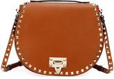 Valentino Rockstud Small Saddle Crossbody Bag