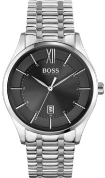BOSS Men's Distinction Stainless Steel Bracelet Watch 42mm