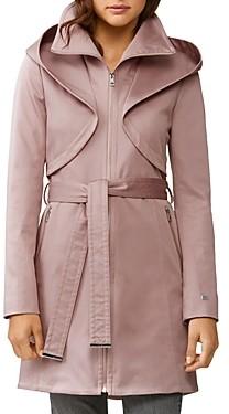 Soia & Kyo Arabella Zip-Up Hooded Rain Coat