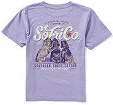 Southern Fried Cotton Big Boys 8-20 Best Friends Short-Sleeve Tee