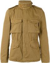 Aspesi button down military jacket - men - Cotton - XXL