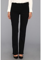 NYDJ Barbara Bootcut Classic Black Overdye Women's Jeans