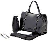 OiOi Tote Diaper Bag - Patent Leather Jet by