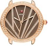 Michele Women's Serein Mid City Lights Diamond Diamond Dial Watch Case, 36Mm