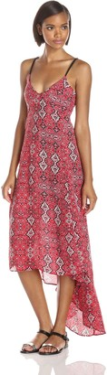 Greylin Women's Julina Washed Silk Maxi Dress