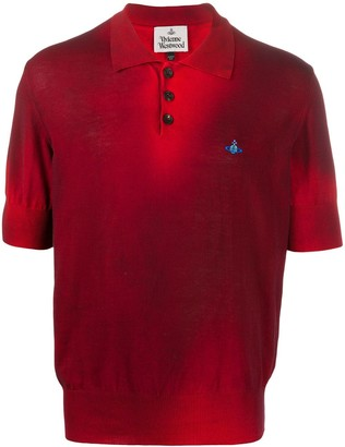 Vivienne Westwood Logo Short-Sleeve Polo Shirt