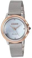 Citizen Watches EM0796-59Y Ceci (Silver-Tone) Watches