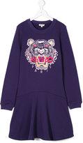 Kenzo signature logo patch dress