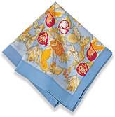 Couleur Nature Set of 6 Tutti Frutti Napkins - Blue