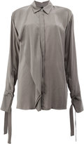Ilaria Nistri shirt with foldover detail
