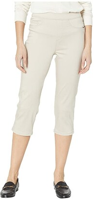 FDJ French Dressing Jeans D-Lux Denim Pull-On Capris in Almond (Almond) Women's Jeans