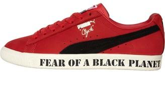 Puma Mens Clyde X Public Enemy High Risk Red Black