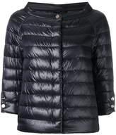 Herno cropped sleeves padded jacket