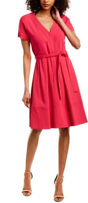 Piazza Sempione Faux Wrap Dress