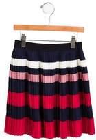 Gucci Girls' Plaid Wool Skirt w/ Tags