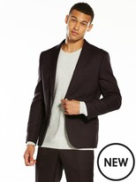 Very Slim Textured Suit Jacket