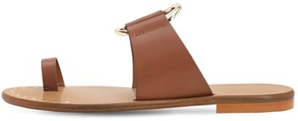 Sarah Summer 10mm Leather Flat Sandals