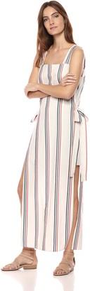 BCBGMAXAZRIA Azria Women's Sleeveless Stripe Shift Dress