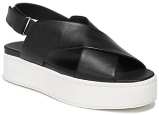 Vince Weslan Cross Strap Slingback Sandal
