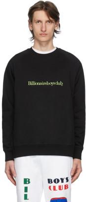 Billionaire Boys Club Black Embroidered Logo Sweatshirt