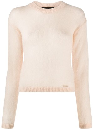 DSQUARED2 Ribbed Crew Neck Jumper