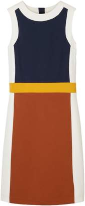 Tory Burch Mya Color-block Stretch-jersey Dress