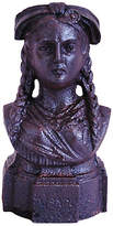 One Kings Lane Vintage 19th-C. French Iron Lady Bust Fragment