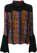 Peter Pilotto pattern intarsia sweater