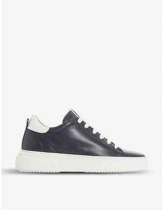 Dune Enlighte leather trainers