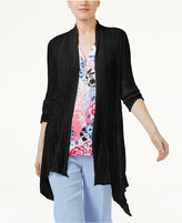 INC International Concepts Asymmetrical Cardigan, Created for Macy's