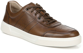 Vince Men's Barnett Perforated Leather Low-Top Sneakers