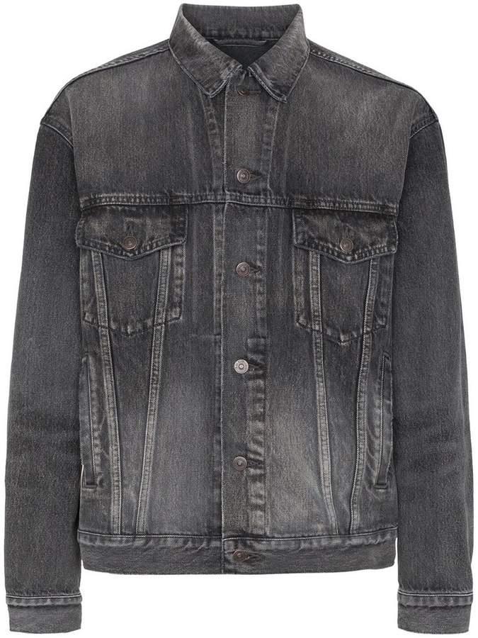 Balenciaga Like A Man denim jacket