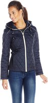 Nautica Women's Zip Front Quilted Jacket