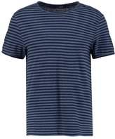 J. Lindeberg Print Tshirt chambray navy