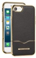 Rebecca Minkoff Leather Iphone 7 Slider Case - Black
