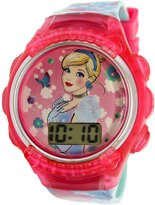 Disney Princess Girl's PRSKD827 Polyurethane Quartz Fashion Watch