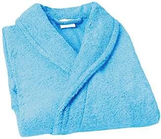 Home Basic Kids – Hooded children bathrobe, size 14 years, color Ocean